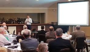 today s speaker was gavin ferlic elevate ventures entrepreneurial engagement director for the south bend elkhart region