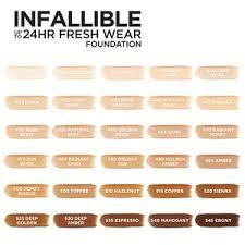 Loreal Paris Infallible 24 Hour Fresh Wear Lightweight Foundation
