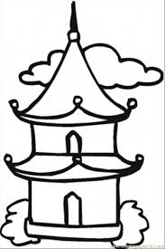 Small Picture Buddha Temple Coloring Coloring Pages