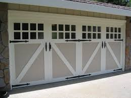 garage doors. Paint Grade Wood Carriage Garage Doors
