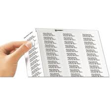 Avery 5167 Labels Avery 5167 Easy Peel Return Address Labels Laser 1 2 X 1 3 4