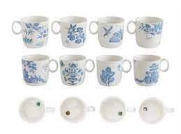 Choose from contactless same day delivery, drive up and more. Blue And White Lovely Stoneware Coffee Or Tea Mugs Floral Patterns S Beautiful Home Store