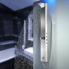 Edelstahl Duschpaneel Duschsäule Wasserfall Regendusche Von