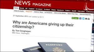 why i gave up my us passport bbc news