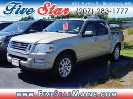 Used Ford Explorer Sport Trac For Sale In Biddeford ME