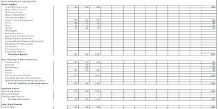 Small Business Budget Template Excel Yearly Business Budget Template