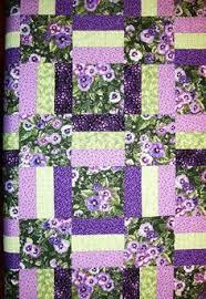 Rose Cottage Quilt Pattern. Enjoy this free quilt pattern, Rose ... & Purple Pansies - gorgeous! Adamdwight.com