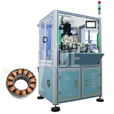 factory making stan ceiling fan winding machine double working stations bldc stator needle coil winder nide mechanical
