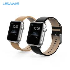 product description for apple watch genuine leather watch band