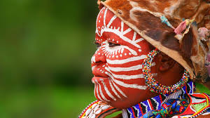 african tribal make up what s behind the face paint
