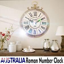 50cm antique vintage roman numerals