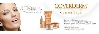 The Coverderm Camouflage Range