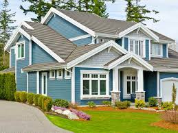 Image of: Shaker Beige Exterior House Paint Ideas