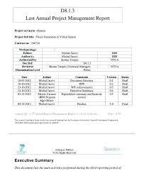 Financial Management Report Template Financial Management Financial