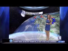 channel 6 weather. sabrina fein delivers the san diego 6 7-day weather forecast 6-19-14 - youtube channel r