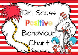 Dr Seuss Chart Dr Seuss Positive Behaviour Chart