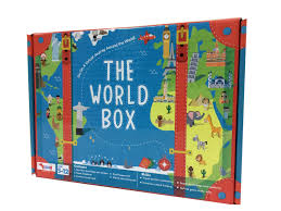 world box for kids geography game educational game birthday gift for kids return gifts for 5 7 8 10 year old boys and s