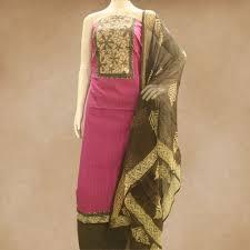 Kota Doria Suits Designs Designer Cotton Top And Cotton Bottom With Kota Doria Dupata