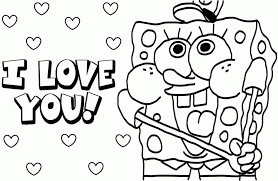 Spongebob Christmas Coloring Pages With Home Printable Coloring