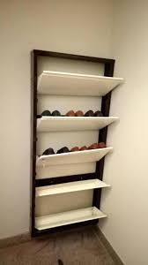 shoe storage wall rack shoe wall shelf photo wall mounted shoe shelves of metal wall mounted shoe storage wall
