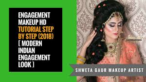enement makeup hd tutorial step by step 2018 modern indian enement look beauty beauty