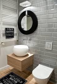 bathroom gray subway tile. Contemporary Bathroom With Subway Tiles Gray Tile 2
