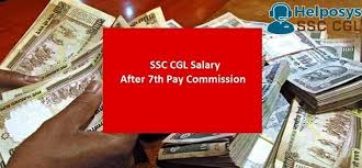 Ssc Cgl Salary After 7th Pay Commission 2017 Salary Chart