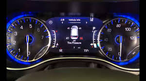 2017 Chrysler Pacifica Dashboard Lights Tire Pressure Monitoring System Tpms Light And Tpms Sensor In 2017 Chrysler Pacifica