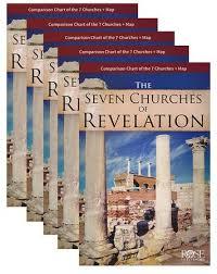 Seven Churches Of Revelation Chart Seven Churches Of Revelation Pamphlet 5 Pk