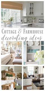 cottage furniture ideas. Cottage And Farmhouse Style Decorating Ideas #foxhollowfridayfavs Foxhollowcottage.com June Features Furniture L