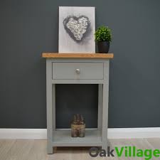 small table for hallway. GREYMORE PAINTED OAK SMALL CONSOLE TABLE - Oak Village Small Table For Hallway