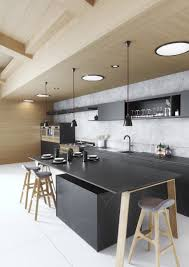 single kitchen cabinet. Kitchen Cabinets:Single Wall Modern Black Cabinet Design For Open Space Single C