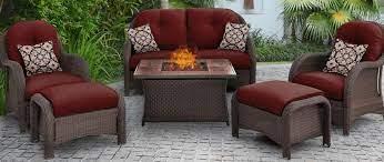 resin wicker patio conversation sets
