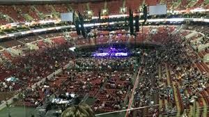 section 209 at wells fargo center for