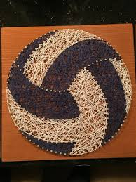 String Art String Art Volleyball Pinteres
