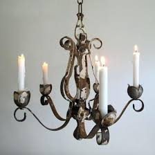 real candle chandelier taper