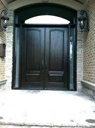 8 foot front door high exterior doors fiberglass entry with sidelights r19