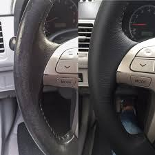 just had my steering wheel s leather re wrapped at seatmate their work is really really good