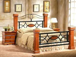 Metal Bed Frame With Storage King Size Bed Frames Wooden Queen Size ...