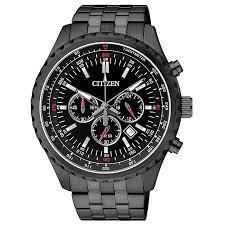 citizen quartz men s black ion plated bracelet watch h samuel citizen quartz men s black ion plated bracelet watch product number 2341611