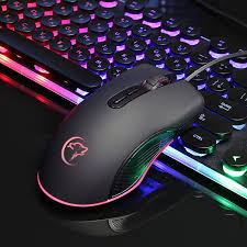 <b>G830 Mini Optical Wired</b> Mouse LED Light Gaming Mice for Gamers ...