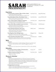 Public Relations Resume Example Examples Of Resumes