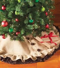 Elegant Snowflake Embroidered Christmas Tree SkirtChristmas Tree Skirt Clearance