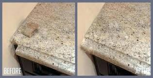 how to fix chip in granite countertop edge how to fix chips in granite and chipped