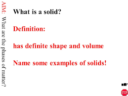Identify The Three Basic Phases Of Matter What Are The 3 Primary