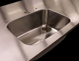 Design Ideas Stainless Steel Countertops Stainless Nc Custom Stainless Steel Countertops With Brushed 4 Finishes