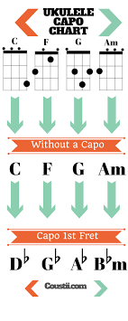 Banjo Capo Chart How Capos For Ukuleles Can Take It To The Next Level Coustii