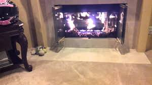 all valley fireplace fireback display