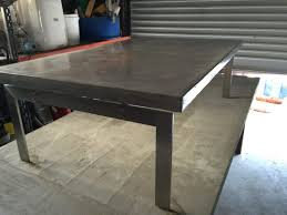 large size of how to make a round concrete table top concrete dining table top concrete