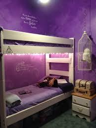 Purple Inspired Bedrooms Harry Potter Bedroom I Love Harry Potter Plus Those Purple Walls